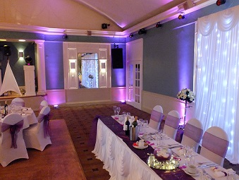 DJ Gavin Vaclavik event lighting hire Essex