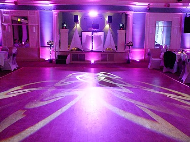 DJ Gavin Vaclavik mood lighting and Gobo Hire Essex