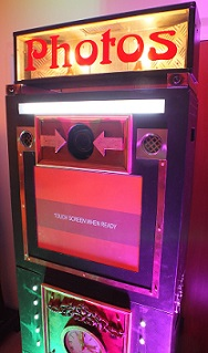 Vintage themed photo booth www.mydiscohire.co.uk